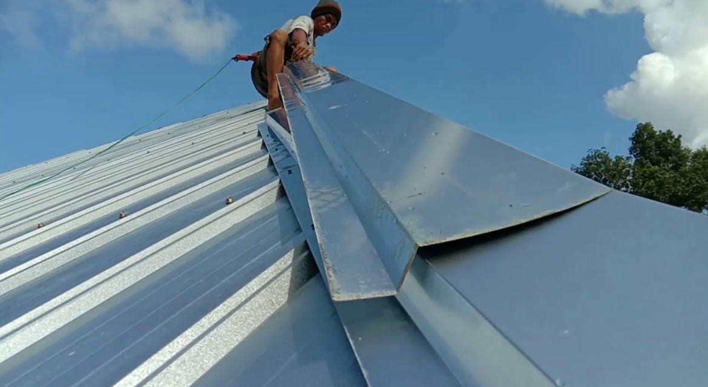 ukuran atap spandek