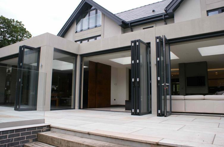 Jendela Aluminium Rumah Besar